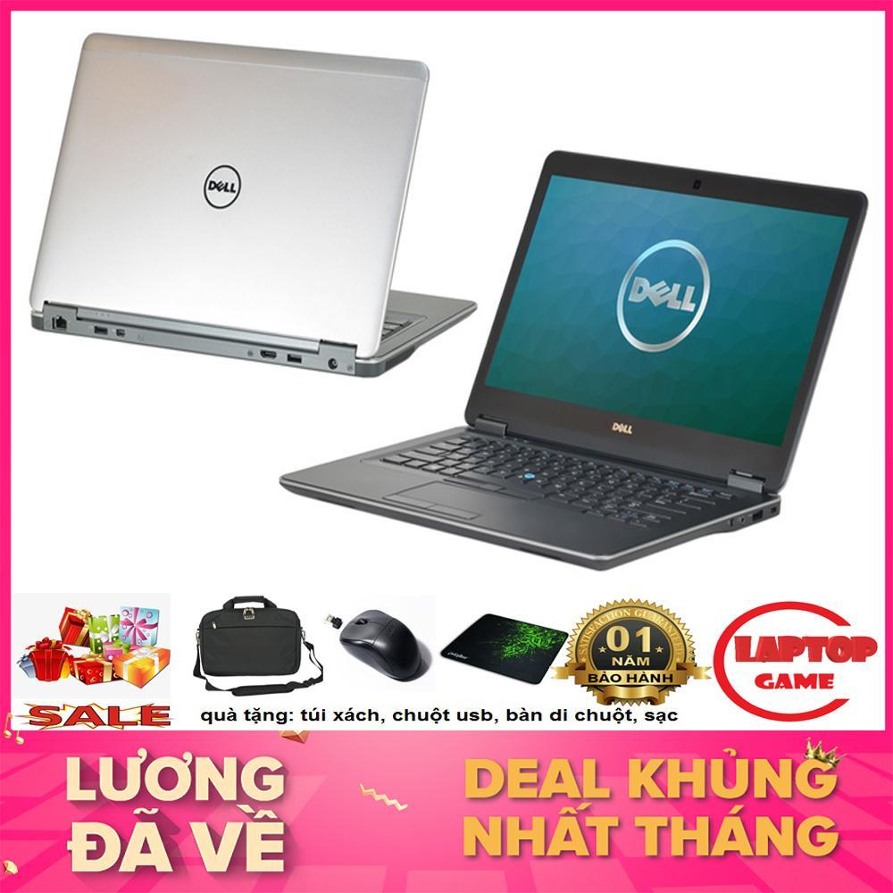 Utrabook mỏng- Dell Latitude E7440 (Core i5-4300U, ram 4G,HDD 250G, VGA on Intel HD 4400, màn 14″ HD