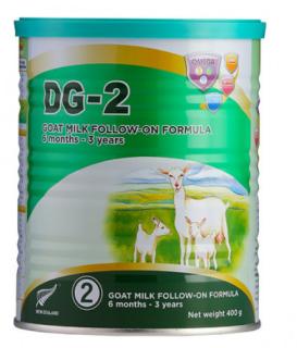 Sữa dê DG 2 400g New Zealand (6 tháng - 3 Tuổi) thumbnail