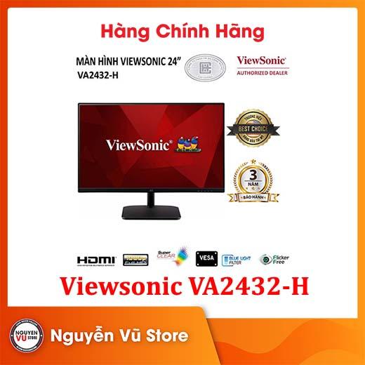Màn hình Viewsonic VA2432-H (FHD/IPS/75Hz/5ms) - Hàng Chính Hãng