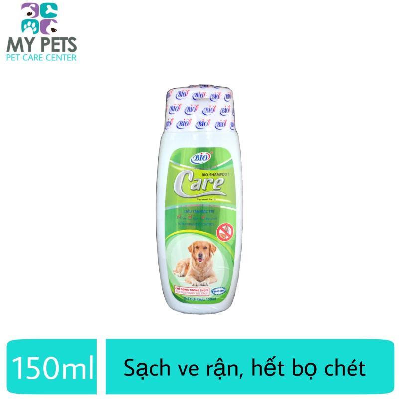 Sữa tắm cho chó diệt ve ghẻ rận tai cho chó mèo - Bio Care 150ml