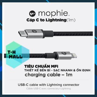 [CHUẨN MFI] Cáp USB-C To Lightning 1m Mophie Cho iPhone Type C To Lightning thumbnail