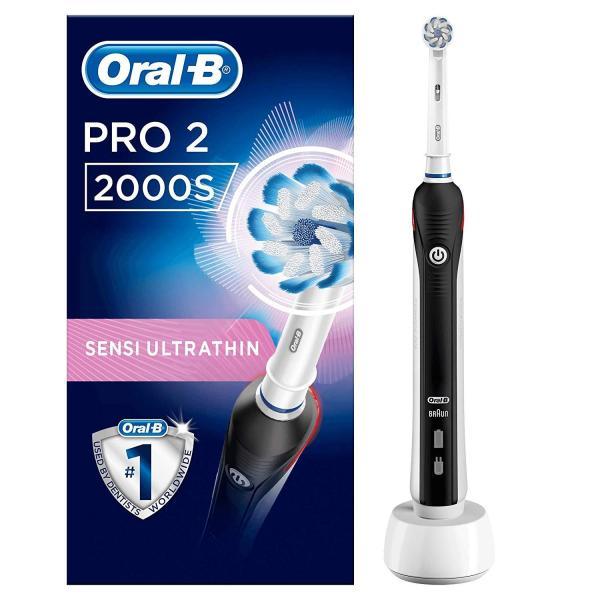 Bàn chải điện cao cấp Braun Oral-B Pro 2 / 2000 / 2000S - Made in Germany giá rẻ