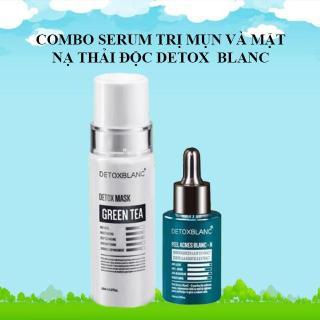 Serum Tri Mụn Và Mặt Nạ Detox BlanC 7