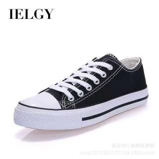 Giày Vải Bạt IELGY Cho Nữ Giày Cổ Thấp Miệng Nông Thời Trang Thoải Mái Thường Ngày