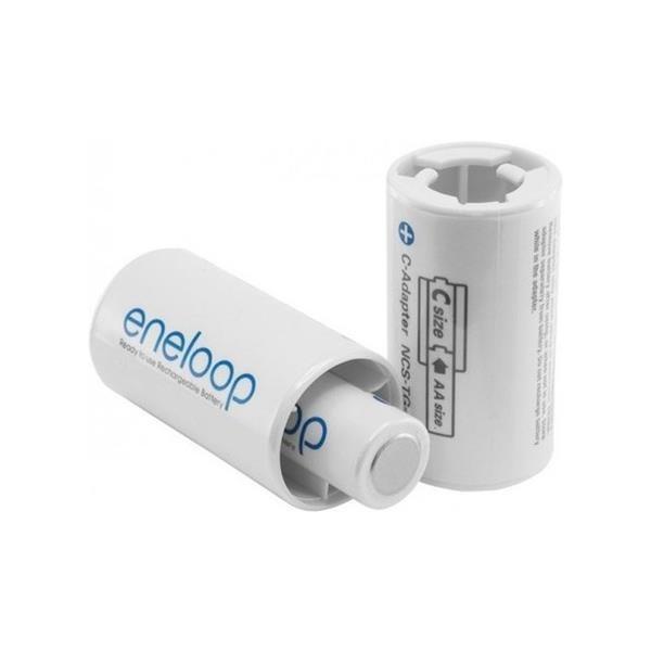 [ Chính hãng ] Áo pin eneloop chuyển đổi pin tiểu AA thành pin trung C ( Adapter pin AA to C )