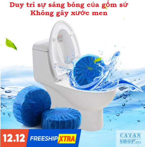 Combo 10 viên tẩy bồn cầu toilet diệt khuẩn Viên tẩy bồn cầu công nghệ Hàn Quốc Khử Mùi Nhà Vệ Sinh Tiện Dụng GD404-TayBC