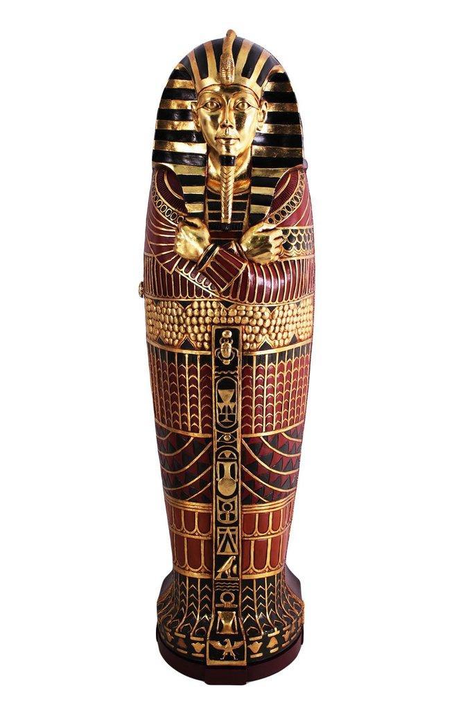 Mua Tượng Ai Cập Tủ Sarcophagus cỡ King Tutankhamen Ai Cập