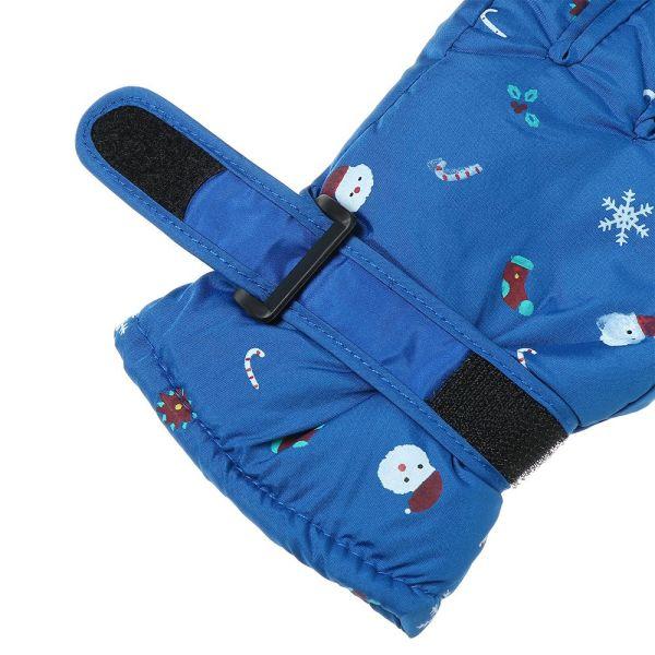 Giá bán DOYOURS Trượt tuyết Dày ấm Mùa đông phải Trẻ con Ván trượt tuyết Găng tay trượt tuyết dành cho trẻ em Găng tay dài tay Chống thấm nước chống gió