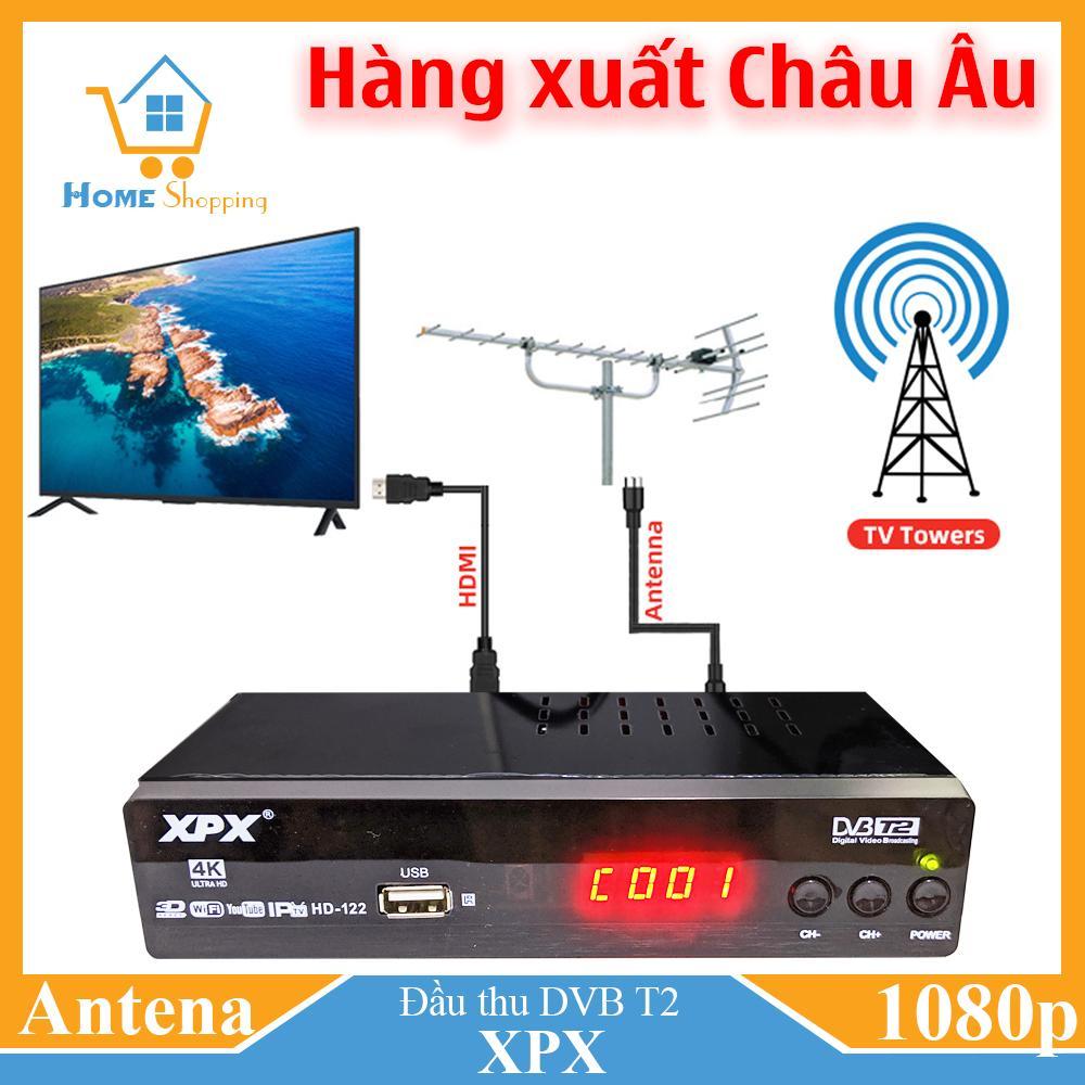 Đầu Thu Truyền Hình Mặt đất- DVB T2-XPX- Dau Thu Truyen Hinh Mat Dat Giá Sốc Nên Mua