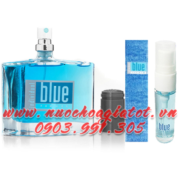 COMBO 2 CHAI NƯỚC HOA NAM AVON BLUE INDIVIDUAL FOR HIM 50ML VÀ 10ML PHILLIPINE