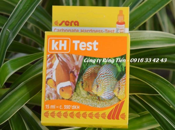 Test kit KH kiểm tra thông số Kiềm trong nước nuôi trồng thủy sản, nước ao hồ nuôi tôm