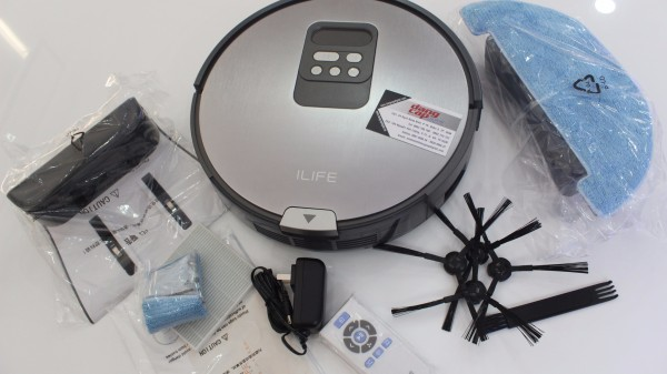 Robot hút bụi lau nhà thông minh ILIFE X750