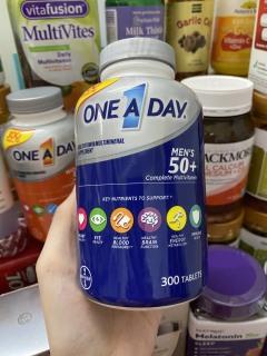 Vitamin Tổng Hợp One A Day Men s 50+ _ Multivitamin dành riêng cho nam trên 50 tuổi ( 300 viên ) thumbnail