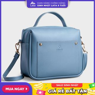 Túi đeo chéo nữ thời trang YUUMY YN81 được làm từ da tổng hợp cao cấp, dày dặn và mềm mại, không bong tróc tự nhiên và không thấm nước. thumbnail