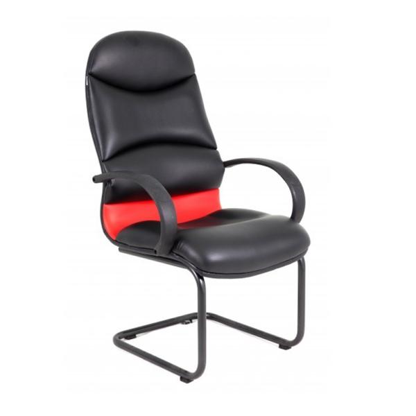 Ghế Phòng họp ID4108 lưng da PU chân sơn tĩnh điện giá rẻ