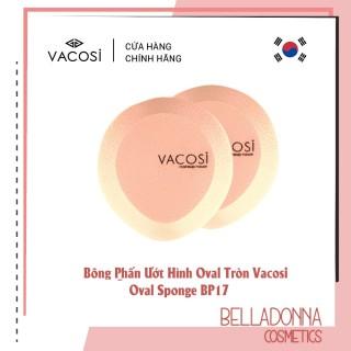 Bông Phấn Ướt Hình Oval Tròn Vacosi Oval Sponge Bp17 thumbnail