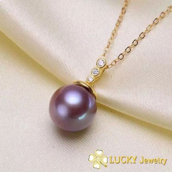 Bông tai Ngọc Trai Lucky Jewelry LJ536 Vàng 18K