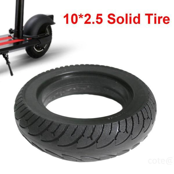 Phân phối Đen 10 x 2.5 Lốp đặc 10 inch cho xe tay ga điện gấp E-bike Lốp mở rộng yozj30CM