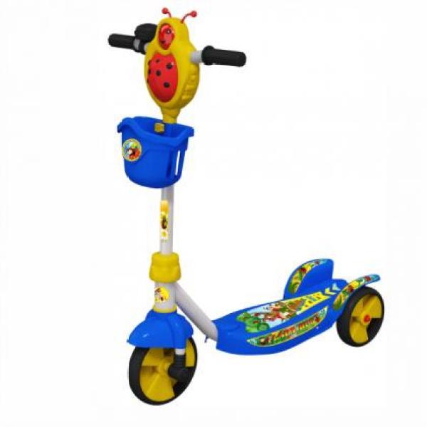 [Quà tặng không bán] Nestle_Xe trượt scooter cho bé hình bọ cánh cam siêu dễ thương