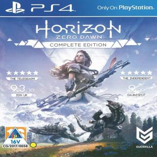 Đĩa Game PS4 - Horizon Zero Dawn Complete Edition [asia ] thumbnail