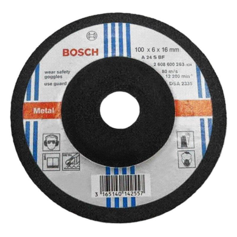 Đĩa mài Bosch 2608600017 Đường kính 100mm (Xanh phối đen).