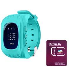 Mã Khuyến Mại Đồng Hồ Định Vị An Toan Trẻ Em Gps Smartwatch Va 01 Sim 3G Viettel Co Sẵn Data Tai Khoản Nghe Gọi Mầu Xanh Dương