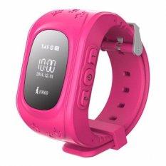Bán Đồng Hồ Định Vị Trẻ Em Day Nhựa Gps Smartwatch Jv88 Hồng Oem Rẻ