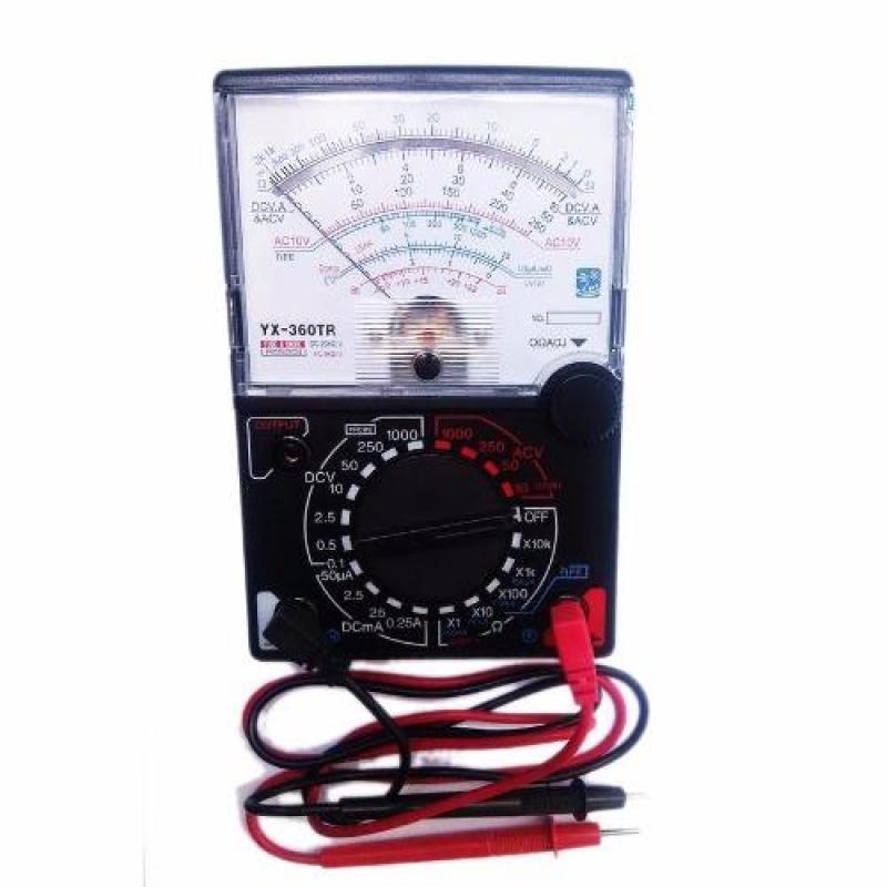 Bảng giá Đồng hồ đo kim vạn năng VOM YX960TR kèm pin chuyên dụng sửa chữa điện tử (Đen phối trắng) Phong Vũ