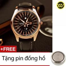 Đồng Hồ Nam Day Da S99A Tặng 1 Pin Đồng Hồ Vietnam
