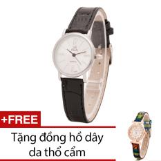 Mua Đồng Hồ Nữ Day Da Bewatch Đen Tặng Kem 1 Đồng Hồ Day Da Thổ Cẩm Bewatch Nguyên