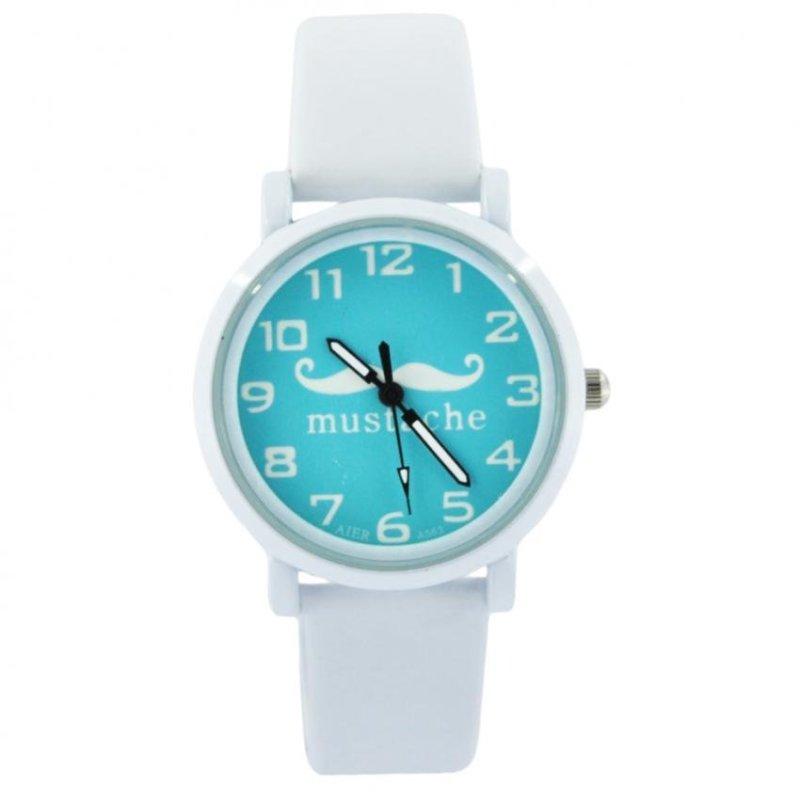 Nơi bán Đồng hồ nữ dây da MUSTACHE C4682 (Trắng)