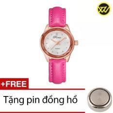 Đồng Hồ Nữ Day Da Ww329A Hồng Tặng 1 Pin Đồng Hồ Mới Nhất