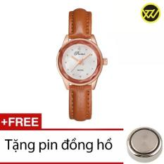 Giá Bán Đồng Hồ Nữ Day Da Ww329E Tặng 1 Pin Đồng Hồ Lsvtr Nguyên