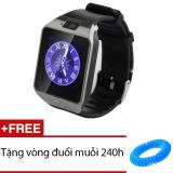 Giá Bán Đồng Hồ Thong Minh Co Khe Sim Smart Watch Uk39 Đen Tặng 1 Vong Đuổi Muỗi 240H Smart Hồ Chí Minh