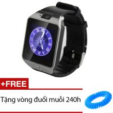 Bán Đồng Hồ Thong Minh Co Khe Sim Smart Watch Uk39 Đen Tặng 1 Vong Đuổi Muỗi 240H Mới