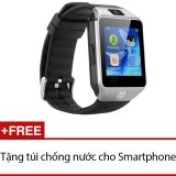 Mua Đồng Hồ Thong Minh Smart Watch Uwatch Dz09 Bạc Hang Nhập Khẩu Tặng 1 Tui Chống Nước Cho Điện Thoại Hồ Chí Minh
