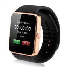 Mã Khuyến Mại Đồng Hồ Thong Minh Smartwatch A1 Version Cải Tiến Đen Viền Vang Rẻ