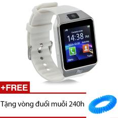 Mua Đồng Hồ Thong Minh Smartwatch Dz09 Trắng Tặng 1 Vong Đuổi Muỗi 240H Oem Nguyên