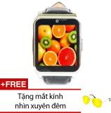 Giá Bán Đồng Hồ Thong Minh Smartwatch Mobile W90 Đen Tặng Mắt Kinh Nhin Xuyen Đem Trực Tuyến