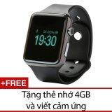 Mã Khuyến Mại Đồng Hồ Thong Minh Smartwatch Uwatch A1 Đen Tặng Thẻ Nhớ 4Gb Va 1 But Cảm Ứng Uwatch
