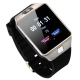 Đồng hồ thông minh Smartwatch UWATCH DZ09 plus Có Sim (bạc)