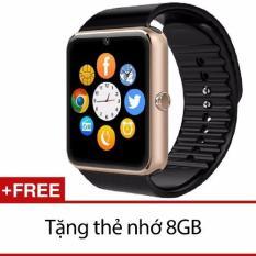 Đồng Hồ Thong Minh Uwatch C08 Vang Tặng Thẻ 8Gb Oem Chiết Khấu 50