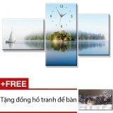 Mua Đồng Hồ Tranh Binh Yen Dyvina 3T 9 Xanh Tặng 1 Đồng Hồ Tranh Để Ban