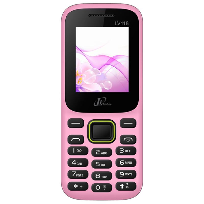 ĐTDĐ LV Mobile LV118 2 SIM (Hồng)