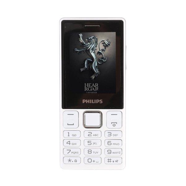 ĐTDĐ Philips E170 2 Sim (Trắng) - Hãng phân phối chính thức