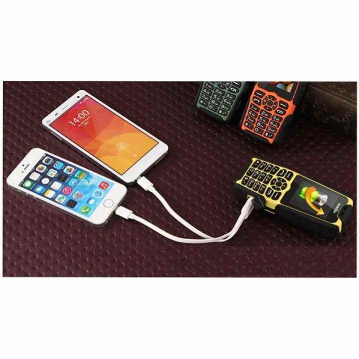 ĐTDĐ Suntek A8 Plus 2 SIM kiêm pin sạc dự phòng 15.000mAh (Rằn ri)