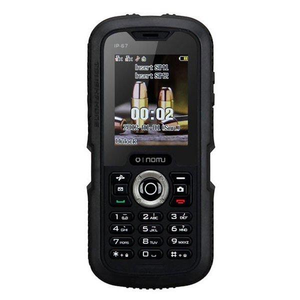 Điện thoại di động SUNTEK NOMU U1 2 SIM (Đen) | Hàng nhập khẩu chính hãng