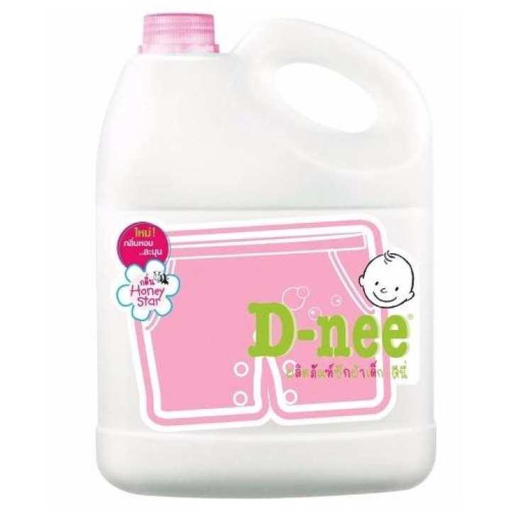 Dung dịch giặt xả quần áo trẻ em Dnee 3000ml...