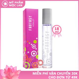 Nước hoa nữ thơm lâu quyến rũ, nước hoa Fantasy Violet 18ml - Mỹ phẩm Mộc Lan thumbnail