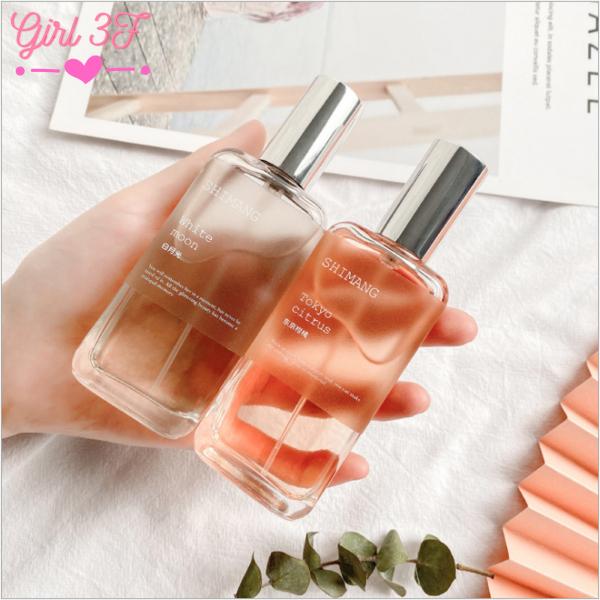 Nước hoa shimang body mist đủ các màu xanh , hồng, tím, đào, vàng, cam hương thơm ngọt dễ thương cho cả nam và nữ dùng cho 4 mùa xuân hè thu đông giá rẻ cho học sinh, sinh viên